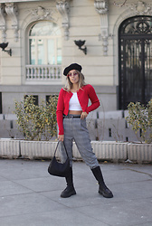 Claudia Villanueva - Yesstyle Cardigan, H&M Pants, Shein Bag, Zara Boots - Archive Photos