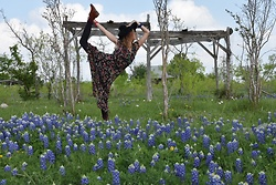 Alexandra Arellano -  - Playing in Blue Bonnet Fields