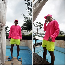INWON LEE - Byther Hat, Byther Basic Shirt, Byther Shorts - DO you like color Pink?