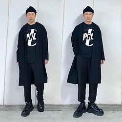 ★masaki★ - Pubric Image Limited, Neuw Denim Coat, Ch. Trousers, Eytys Angel - P i L