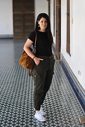 Lucia Gallego - Femme Luxe Cargo Pants - Cargo pants