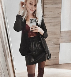 Vanessa ♡ - H&M, H&M - Lace and leather
