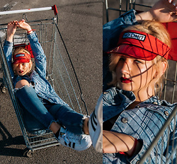 Vlada Kozachyshche - Bershka Jeans, Adidas Sneakers - How soon this all will be over?