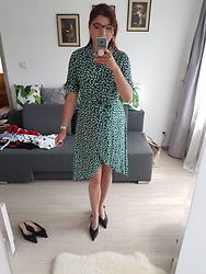 Kamila Krawczyk - Aliexpress Dress, Zara Shoes - Green Harmony
