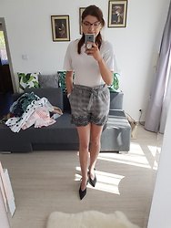 Kamila Krawczyk - New Look Blouse, Bonprix Shorts, Zara Shoes - Daydreams