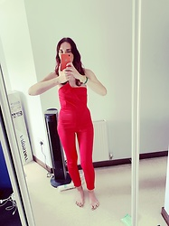 Hayleigh Maxim - Boohoo Jumpsuit - Friday night I'm in