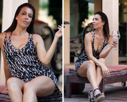 Kaya Peters - Leopard Print Dress - Meowww