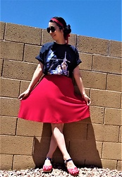 Saguaro Style - Mens' Xl Family Guy X Star Wars Tee, Calvin Klein Red Fit And Flare Dress, Sven Clogs Liberty - May the fourth be with you!