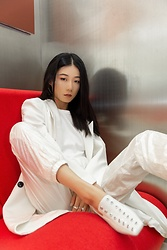 Ava Foo -  - All white