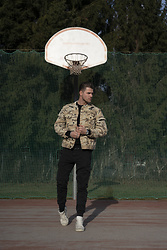 "Alexander Renzl - Crime London White High Top Sneakers, Siksilk Desert Camouflage Ripped Jacket, Jack And Jones Black ""Combat Pants"", Bellfield Steel Watch - I can't play basketball"