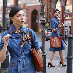 Minimalissmo .. -  - Denim dress