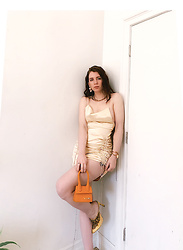 Gabrielle Arruda -  - Summer outfit slip dress