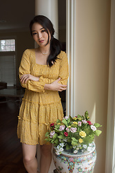 Kimberly Kong - Bella And Bloom Boutique Yellow Dress - How Trades of Hope Gives Back in a Big Way