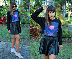 Jointy&Croissanty © - Bazaardodo Sweatshirt - Sweatshirt and skirt