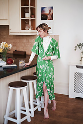 Daniella Robins - Wrap Dress - An Appreciation For Slow Living