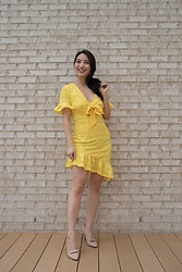 Kimberly Kong - Bella & Bloom Boutique Yellow Dress - The Must Have Yellow Minidress ($39.99)