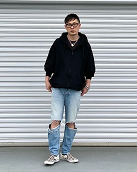 ★masaki★ - Vitaly Padlock, Neuw Denim Jeans, Vans Slipon - VITALY accessories