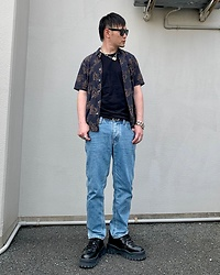 ★masaki★ - Neuw Denim Shirts, Neuw Denim Jeans, Eytys Shoes, Vitaly Necklace - NEUW DENIM