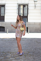 Claudia Villanueva - Zara Dress, Mango Bag, Zara Sandals - Color Mix