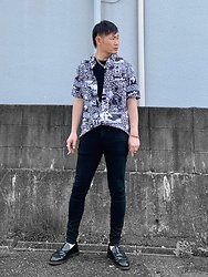 ★masaki★ - Neuw Denim Shirts, Neuw Denim Jeans, Dr. Martens Loafers - Simple
