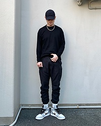 ★masaki★ - R13 Denim Cargo, Nike Aj1 - Simple Fits