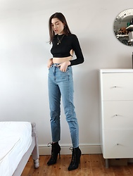Georgia X - Asos Jeans, Shein Top - Crop it out