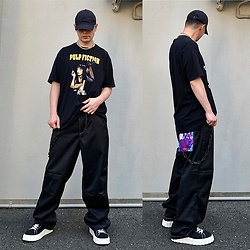 ★masaki★ - Pulp Fiction Movie Tee, Eytys Titan, Eytys Odessa, Nike Cap - EYTYS