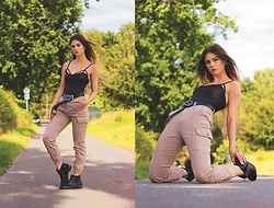 Jenny - Femme Luxe Body, Femme Luxe Pants, Primark Shoes - KIM POSSIBLE