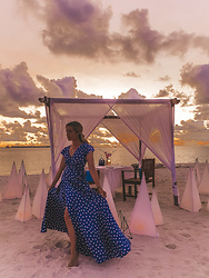 Joicy Muniz - Revolve Dress - Sunset in Paradise