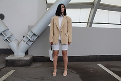 Kat I. - Mango Blazer, Zara Shoes, Adax Bag - Minimal aesthetic