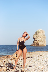 Virgit Canaz - Shein Bathing Suit - Marsden Rock