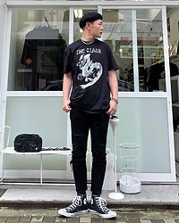 ★masaki★ - The Clash Tee, Neuw Denim Jeans - Should I Stay Should I Go