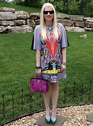 Shannon D - Clover Canyon Dress, Giuseppe Zanotti Heels, Hermès Bag, Ray Ban Sunglasses - Summer Days