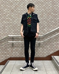 ★masaki★ - The Clash Guns Of Brixton, Neuw Denim Rebel Skinny, Converse Ct70 - GUNS OF BRIXTON