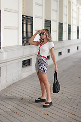 Claudia Villanueva - Shein Cardigan, Shein Skirt, Shein Bag, Asos Sandals - Summer Trends That I Love