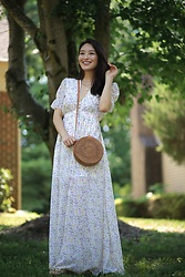 Kimberly Kong -  - The Dainty Floral Print Maxi ($54)