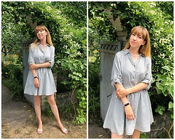 Julia F. - Reserved Shirt Dress - Garden party