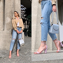 Zuza - Zara Jeans, Steve Madden Sandals, Ducie London Jacket, Atomy Bag - Casual saturday