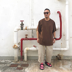 Mannix Lo - Online Shop Oversize Tee, Online Shop Loose Fit Pants, Online Shop Outdoor Sandals - I'm at the age where I hate loud and unnecessary noise