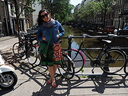 Lady Habana - Desigual Dress, United Colors Of Benetton Satchel Bag - Tbt Amsterdam