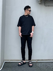 ★masaki★ - Vitaly Ballchain, R13 Denim Jeans, Dr. Martens Sandals - Simple Fits