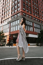 Kimberly Kong - Free People Ruffle Slip Dress - Remix: The Must Have Slip Dress