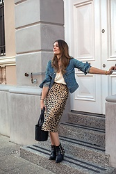 Jenelle Witty -  - LEOPARD PRINT AND DENIM