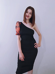 Malinina-ek - - Femmelux Dress - Black & fair