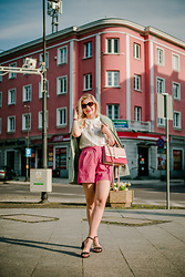Aleksandra Siara - Asos Shorts, Aldo Bag, Shein Shirt - Casual summer street look