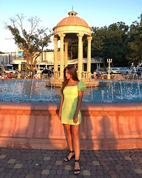 Kristina E. - Shein Dress, Asos Sandals - Golden hour