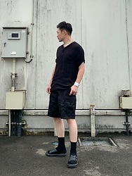 ★masaki★ - Dr. Martens Dax, Rothco Short Cargo - What a Lovely Day