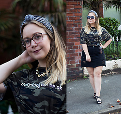 Emma Reay - Http://Shein.Top/P26rnny Camo Tshirt Gifted - THE OTHER SIDE OF ME