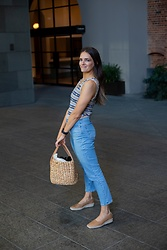 Jenelle Witty -  - KNIT TOP & STRAIGHT LEG JEANS