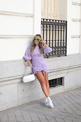 Claudia Villanueva - Shein Dress, Yesstyle Bag, Superga Sneakers - A viral summer piece